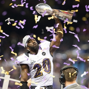 Ed Reed of the Baltimore Ravens