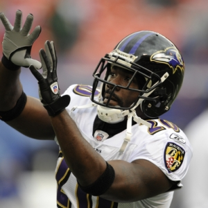 Baltimore Ravens safety Ed Reed.