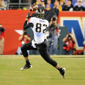 Army Black Knights wide receiver Edgar Poe