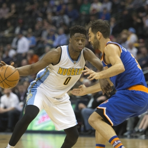 Emmanuel Mudiay of the Denver Nuggets