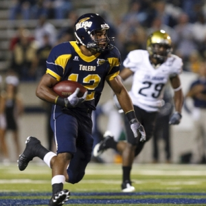Eric Page of the Toledo Rockets