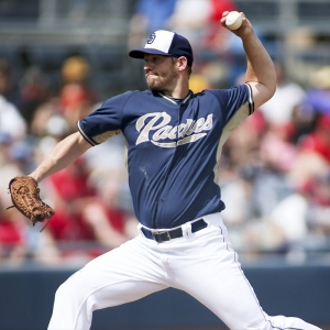 San Diego Padres starting pitcher Eric Stults