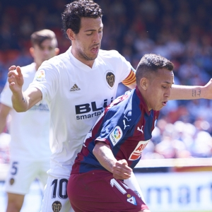 Fabian Orellana, forward of SD Eibar
