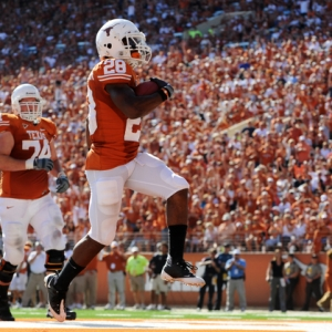 University of Texas Longhorns RB Fozzy Whittaker
