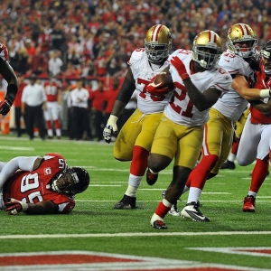 San Francisco 49ers running back Frank Gore