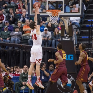 Wisconsin Badgers forward Frank Kaminsky
