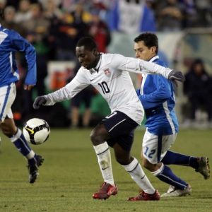Freddy Adu of the US National Soccer Team.