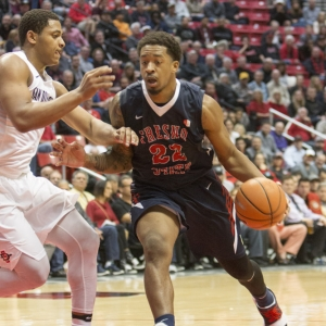 Fresno State Bulldogs guard Ray Bowles Jr. (22) during the game between the Fresno State University Bulldogs and the San Diego State University Aztecs