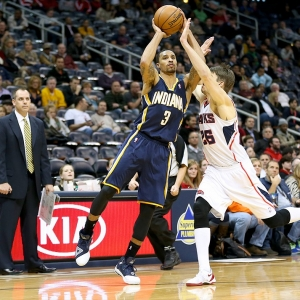 George Hill of the Indiana Pacers