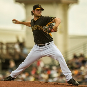 Gerrit Cole of the Pittsburgh Pirates