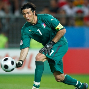 Gianluigi Buffon, goalkeeper for Italy