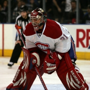 Goalie Carey Price of the Montreal Canadians