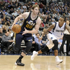 Utah Jazz shooting guard Gordon Hayward