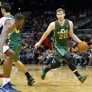 Gordon Hayward of the Utah Jazz
