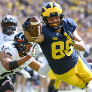 Michigan Wolverines wide receiver Grant Perry