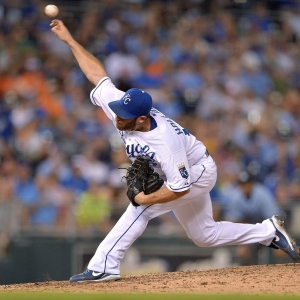 Kansas City Royals relief pitcher Greg Holland