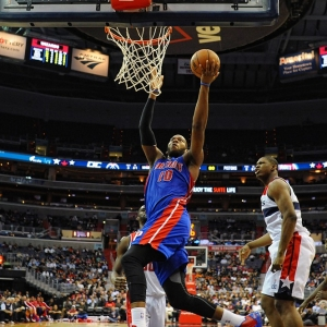 Detroit Pistons center Greg Monroe
