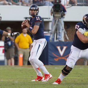 University of Virginia Cavaliers quarterback Greyson Lambert