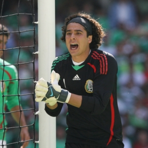 Guillermo Memo Ochoa, goalkeeper for Mexico