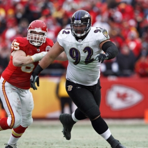 Baltimore Ravens defensive tackle Haloti Ngata
