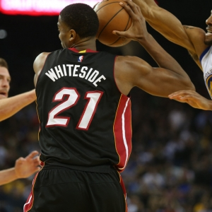Miami Heat's Hassan Whiteside