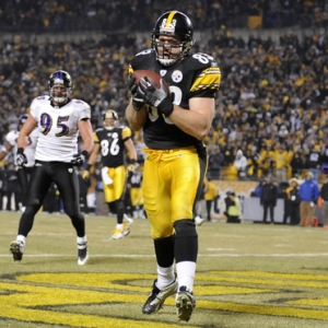 Heath Miller of the Pittsburgh Steelers