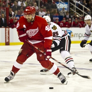 Detroit Red Wings forward Henrik Zetterberg