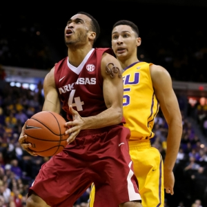 Arkansas Razorbacks guard Jabril Durham