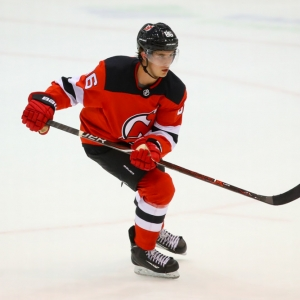 New Jersey Devils forward Jack Hughes