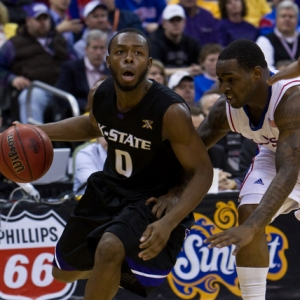 Kansas State Wildcats guard Jacob Pullen