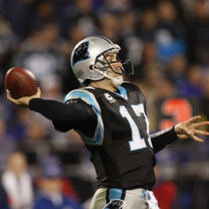 Carolina Panthers Quarterback Jake Delhomme.