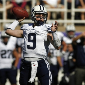 Brigham Young Cougars quarterback Jake Heaps