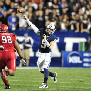 BYU quarterback Jake Heaps