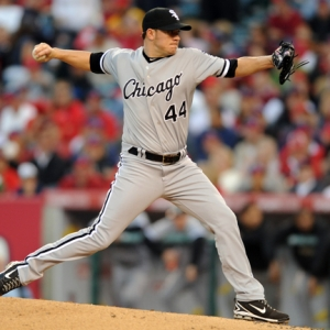 Chicago White Sox starting pitcher Jake Peavy
