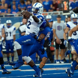 Air Force Quarterback Jaleel Awini