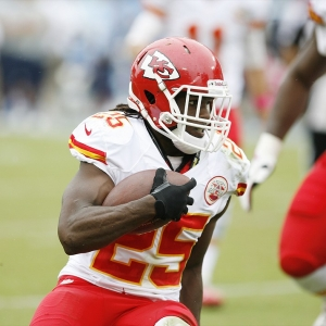 Jamaal Charles, Kansas City Chiefs running back