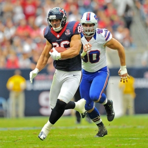 Houston Texans fullback James Casey