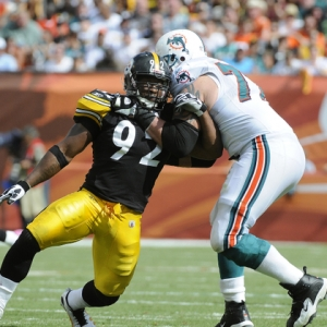 James Harrison of the Pittsburgh Steelers