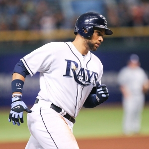 Rays first baseman James Loney