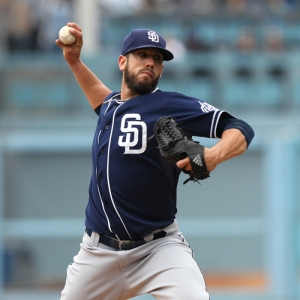 San Diego Padres Starting pitcher James Shields