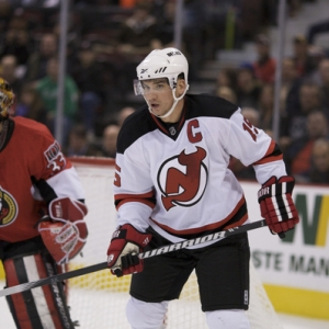 Jamie Lagenbrunner of the New Jersey Devils.