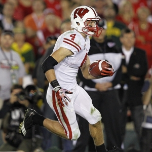 Wisconsin Badgers wide receiver Jared Abbrederis