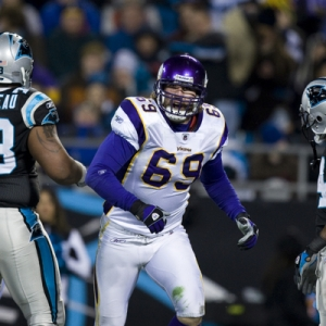 Minnesota Vikings defensive end Jared Allen