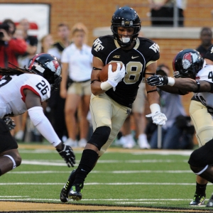 Wake Forest Demon Deacons wide receiver Jared Crump
