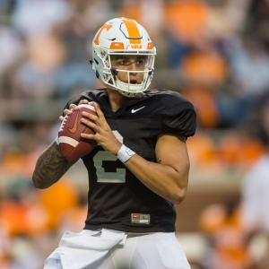 Tennessee Volunteers quarterback Jarrett Guarantano