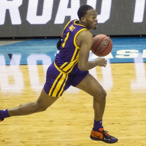 LSU Tigers guard Javonte Smart