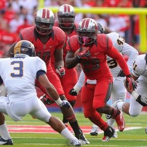 Rutgers Scarlet Knights running back Jawan Jamison