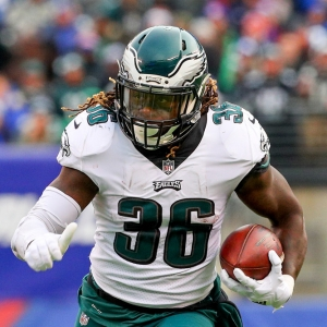 Philadelphia Eagles running back Jay Ajayi