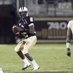 Central Florida Quarterback Jeff Godfrey