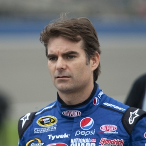 NASCAR driver Jeff Gordon.